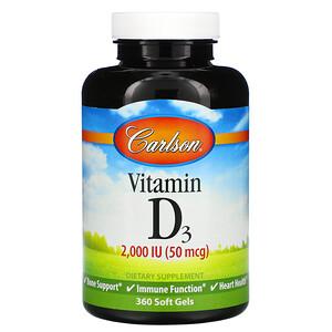 Carlson Labs витамин Д3