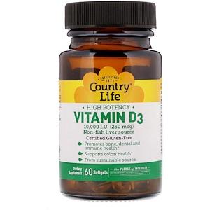 Country Life витамин Д3