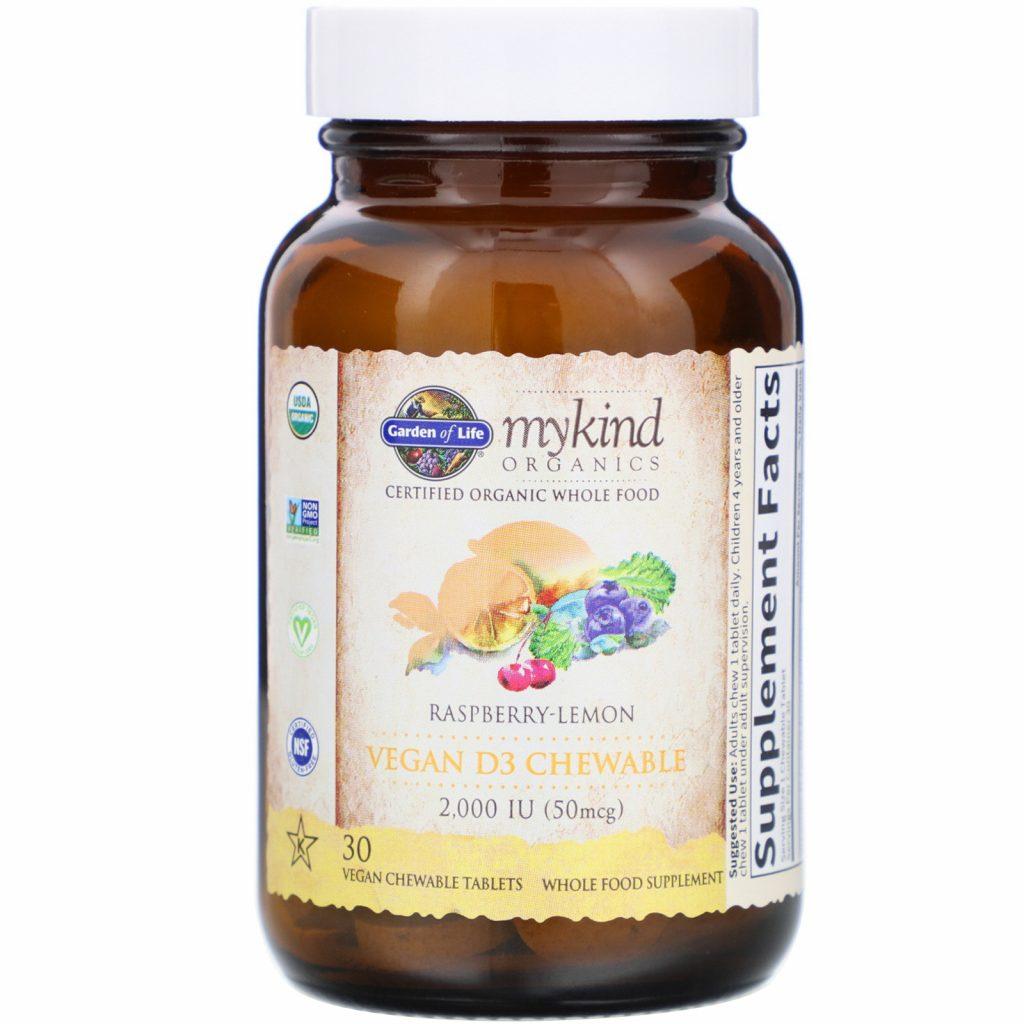 garden of life витамин Д с грибами
