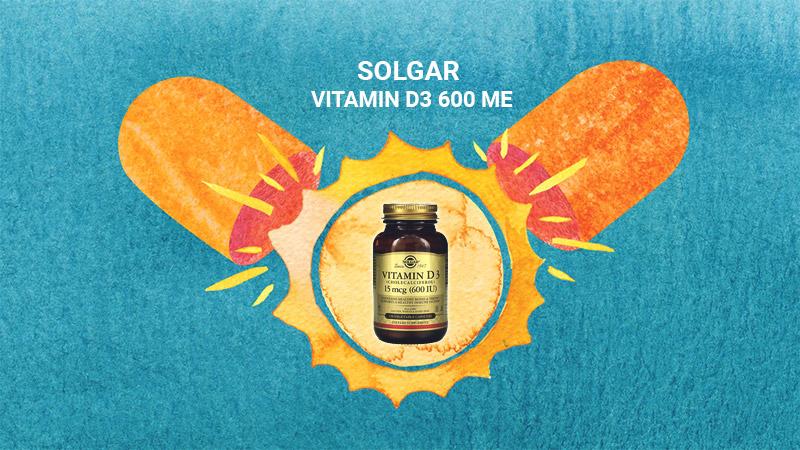 Solgar Vitamin D3 600 ME